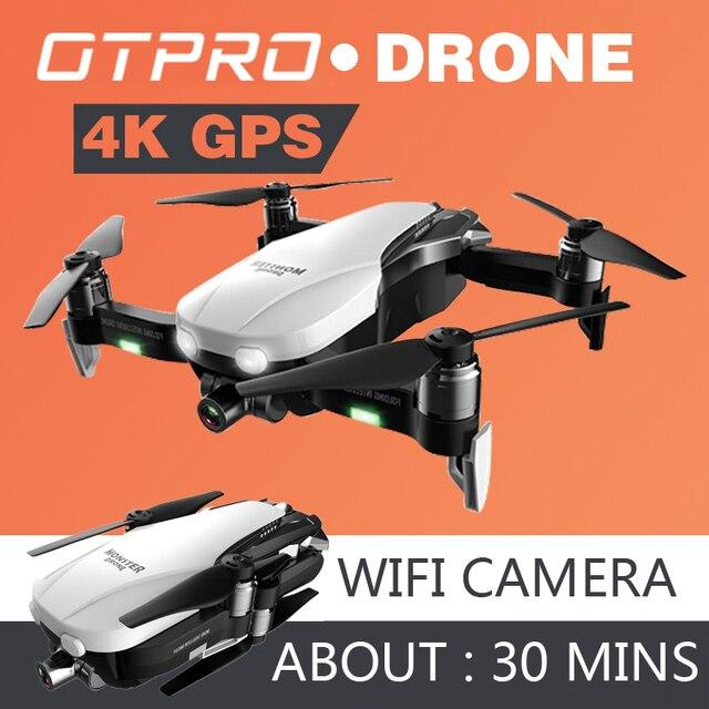 Camera 4K Mini Lái Quadcopter Profissional GPS Máy Bay Không Người Lái FPV RC Drone Gấp Điều Khiển Từ Xa Đồ Chơi Quà Tặng