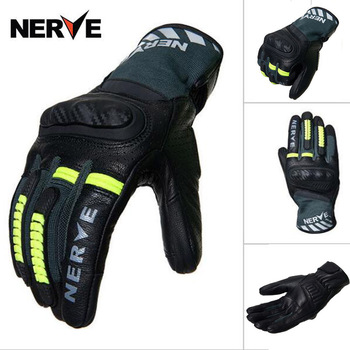 2020 Summer NERVE Motorcycle riding gloves men thin breathable touch screen locomotive racing glove motorbike off-road equipment