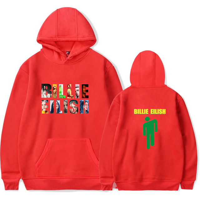 BILLIE EILISH THEMED HOODIE (6 VARIAN)