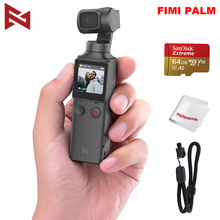 FIMI PALM 3 axis Stabilized Handheld Camera 120g 4K UHD 128° Ultra Wide Angle Smart Track Built in Microphone & Wi Fi Control