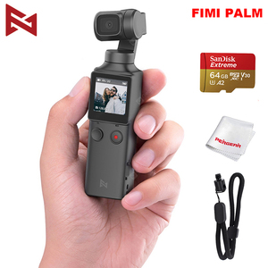 Image 1 - FIMI PALM 3 axis Stabilized Handheld Camera 120g 4K UHD 128° Ultra Wide Angle Smart Track Built in Microphone & Wi Fi Control