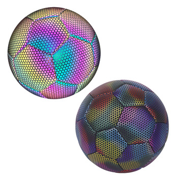 Luminous piłka nożna zapala się piłka nożna świecące w ciemności rozmiar 4 5 piłka do piłki nożnej zapala się piłka nożna dla piłka nożna dla dzieci szkolenia tanie i dobre opinie CN (pochodzenie) Other Luminous Football Size 4 ball Size 5 ball Size 4 (620-650mm) Size 5 (680-700mm) Size 4 650g Size 5 750g