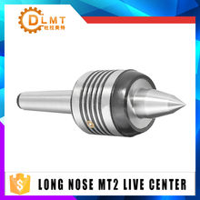1pcs Long Nose MT2 Live Center Precision 55-60HRC/45-50HRC 0.0002 Accuracy Morse Taper Bearing For Lathe Turning Tool mt2 lathe turning tool heavy duty precision rotary lathe bearing tailstock center for metal