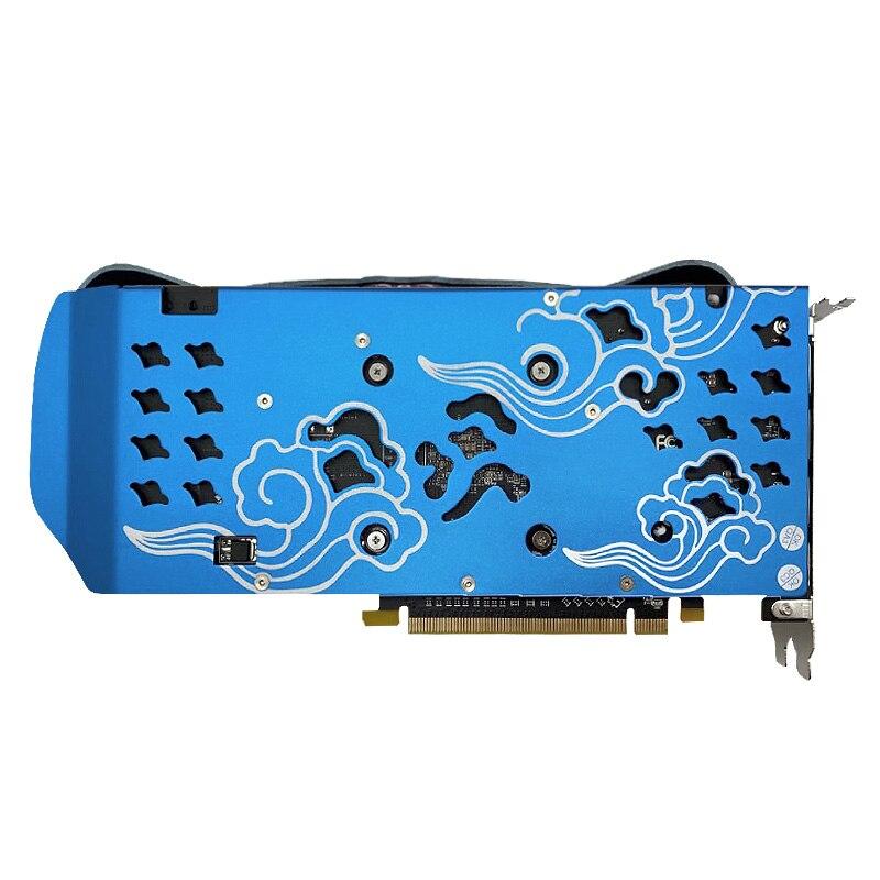 Image 5 - Yeston Radeon RX 580 GPU 8GB GDDR5 256 bit Gaming Desktop computer PC Video Graphics Cards support DVI/ HDMI PCI E X16 3.0pci-e x16256 bitgraphic card -