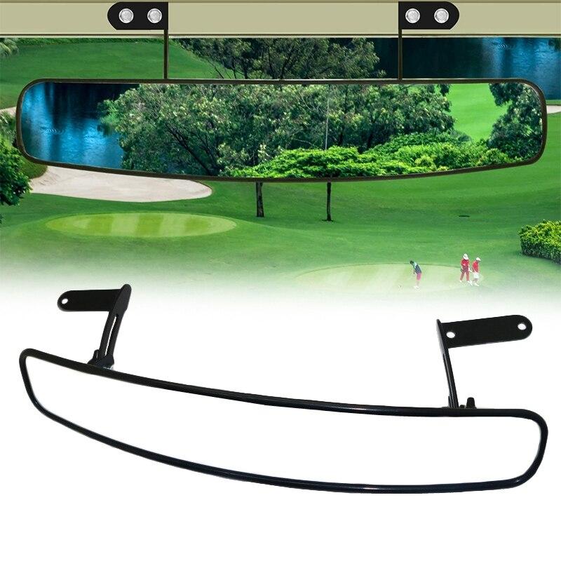 Carrinho de Golfe Espelho para ez Polegada Universal Ampla Vista Traseira Convexo go Carro Clube Yamaha 180 Graus Extra Panorâmica 16.5 Mod. 297321