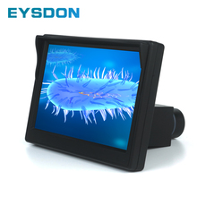 Pantalla de visualización de microscopio de 5 pulgadas con puerto de 23,2mm ocular electrónico ocular Digital