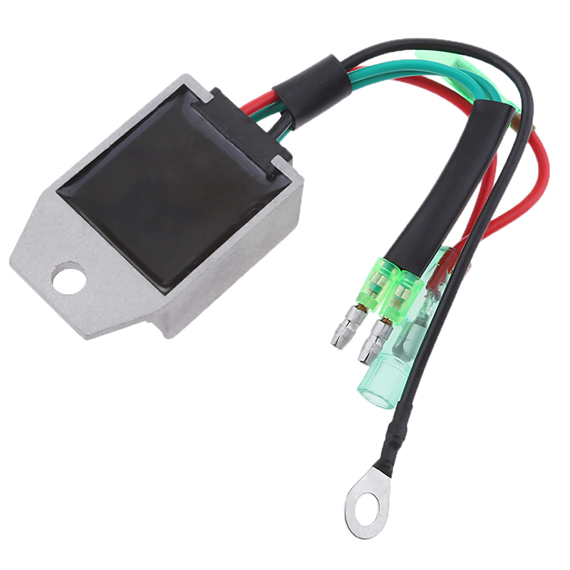 Image 2 - 4 Wire Boat Voltage Regulator Rectifier Fit Universal 2 Stroke 15HP Marine Boat Outboard Aluminium Alloy Boat Accessories Marine-in Boat Engine from Automobiles & Motorcycles