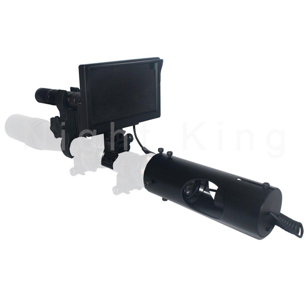 Hot Outdoor Jagd optik monokulare Taktische digitale Infrarot nachtsicht teleskop fernglas verwenden in Tag Nacht Für Zielfernrohr