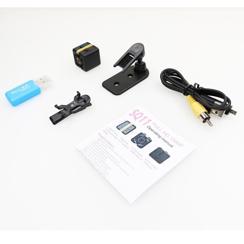 Sq11 мини камера с тайным обнаружением движения dvr микро Спорт