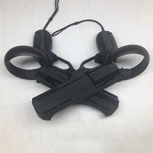 Sinistra e Destra VR Gioco di Tiro Pistola Revolver Gioco di Tiro Modello Pistole per Oculus Quest/Rift S VR Regolatore accessori