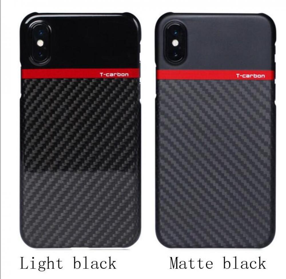 Двойной цвет углеродного волокна мобильный телефон оболочки iPhoneX ультра-тонкий углеродного волокна Защитный чехол от падения