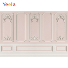 Vintage Pink Chic Wall Door Wedding Birthday Party Portrait Photo Backdrops Interior Photography Backgrounds For Photo Studio