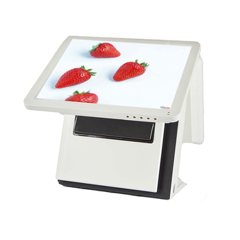 1618pos terminal 15inch touch screen pos machine for restaurant