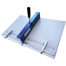 цена на Manual Book Line Thick Paper Creasing Machine Manual Cover Business Card Album Greeting Card Creasing Machine Folding Machine