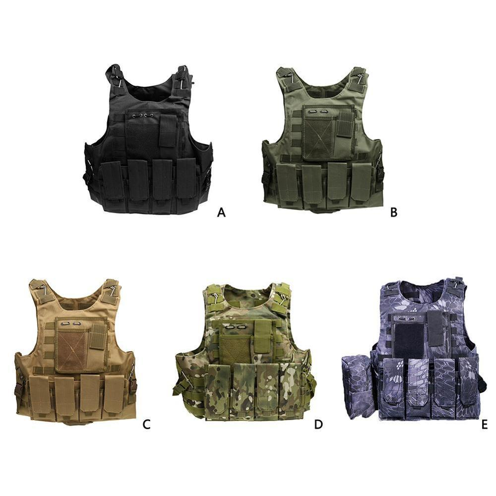 Amphibious Tactics Vest Tactical Outdoor Camouflage Multi-Function  Forces Combat Equipment Male