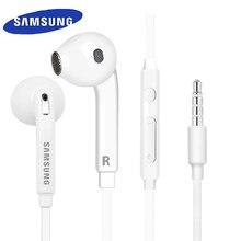 سامسونج الأصلي EO EG920 S6 سماعة في الأذن مع التحكم المتكلم السلكية 3.5 مللي متر سماعات مع هيئة التصنيع العسكري 1.2 متر في الأذن الرياضة سماعات