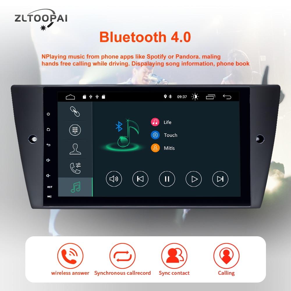 ZLTOOPAI 1 Din Android 10.0 lecteur multimédia de voiture pour BMW E90 E91 E92 E93 3 série GPS Navigation Auto Radio lecteur de voiture IPS nouveau - 3