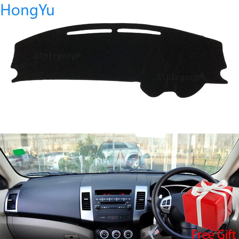 For Mitsubishi Outlander 2007 2008 2009 2010 2011 2012 Dashboard Cover Pad Sun Protection Pad UV Protection Mat Right Hand Drive