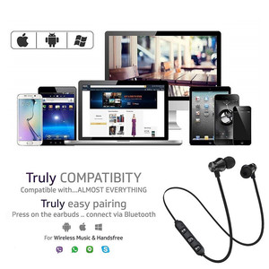 Image 4 - Bluetooth V4.2 אלחוטי סטריאו אוזניות ספורט אוזניות עבור iPhone X XS 7 8 סמסונג S8 S9 S10 Xiaomi 9 עמיד למים אוזניות עם מיקרופון