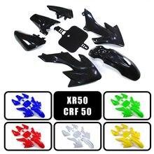 Kits de carénage en plastique pour Honda XR50 CRF50, 6 couleurs, pour Dirt Bike, 50cc 70cc 90cc 110cc 125cc 150cc 160cc