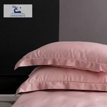 Liv Esthete 25 Momme 100 Nature Pink Silk Pillowcase Healthy Skin Silky Pillow Case For Women