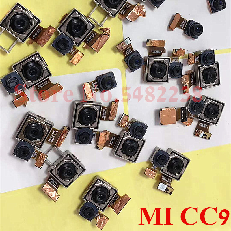 100% Original Front Back Camera Flex Cable For Xiaomi CC9 Mi Cc9 Rear Main Facing Camera Module Replacement Parts