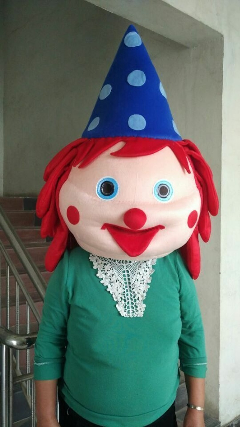 Discount Up To 20 2019 Publicite Tete De Clown Mascotte Costume