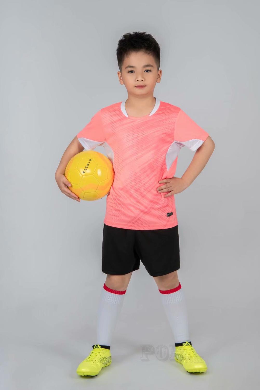 Kids football Uniforms boys girl soccer Jerseys Custom child Soccer Jersey Set Sportswear t-shirt sports suit new style 9