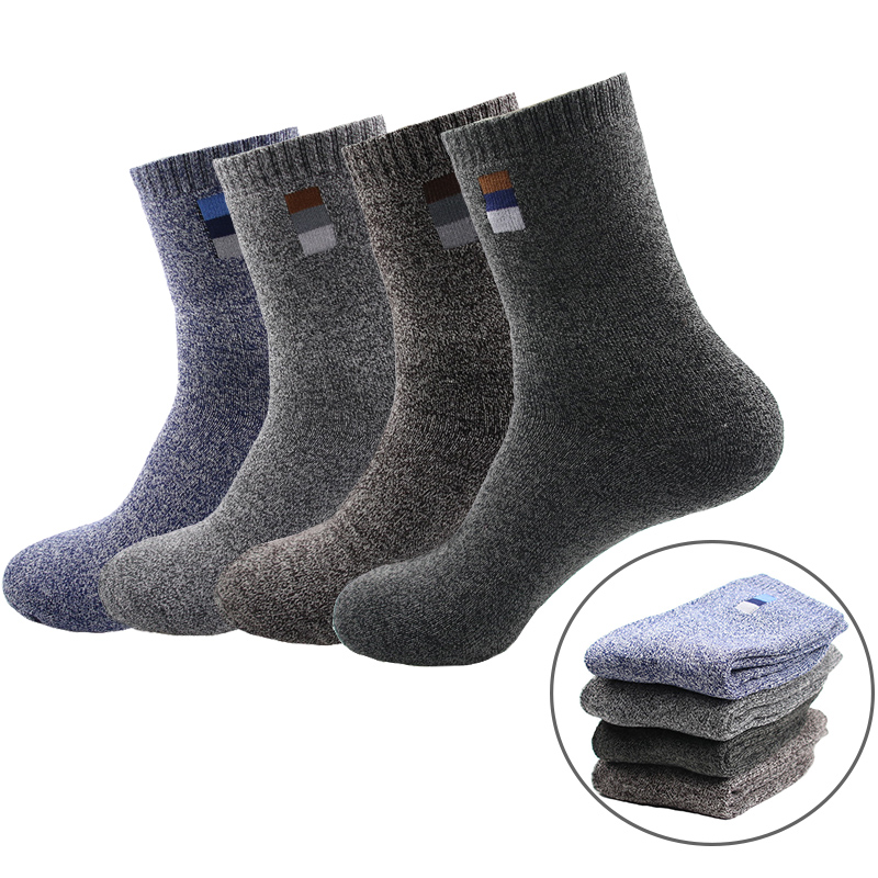 Winter Men's Socks Cotton Keep Warm Classical Business Men Socks Breathable Casual Excellent Quality Socks Winter For Male