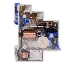 220V 7 Minutes Mechanical Timer 18mm Single Module Din Rail Staircase Timer Time Switch Instruments