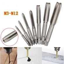 Taper Screw-Tap Hand-Thread Metric Straight Fluted Hss-Machine Spiral-Point M12 M3 To