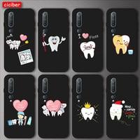 Funda de TPU suave para dentista Xiaomi Redmi Note 8T 9 8 7 Pro 9A 8A 7A MI Note 10 9T Pro SE A2 A3 Lite 6X F1