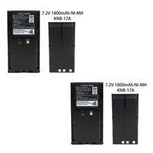 2X Replacement KNB-17A KNB-21N Battery(s) for Kenwood TK-280 TK-380 TK-480 Radio