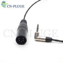 XLR 5 دبوس ذكر إلى 3.5 كابل الصوت لخط الصوت أري أليكسا XT