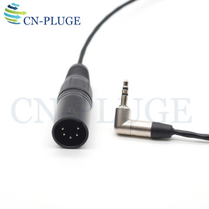 Image 1 - XLR 5 pin male To 3.5  Audio Cable For ARRI ALexa XT Audio Line