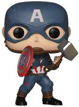 Marvel collector corps #481 avengers final capitão américa com stormbreaker 10cm vinil figura de ação brinquedos