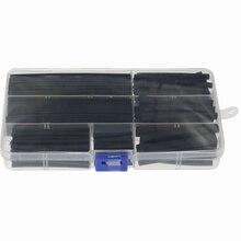 150Pcs Heat Shrink Wire Wrap Assortment Tubing Electrical Sleeve Diameter 2/2.5/3.5/5/6/8/10/13mm