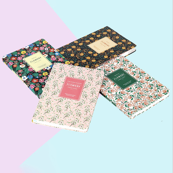 2020 Flowery Daily Weekly Monthly Planner A5 Notebook Time Memo Undated Planning Organizer Agenda Stationery Supplies image