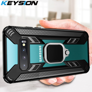KEYSION Shockproof Armor Case for Samsung Galaxy S10 Plus S10e Note 10 Plus Phone Cover for A70 A50 A30 A20 A10 A50S A9 A7 2018 1