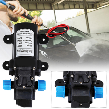60W 12V Electric Diaphragm Water Pump 5L/Min 0.8MPA High Pressure Self-Priming Pump For Car Washing Spray Caravan Camping Boat car washer 220v household high pressure cleaner self suction cleaner water jet brush pump self washing pump