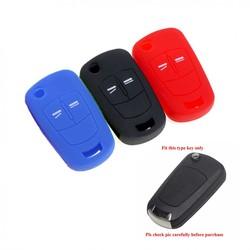 Capa para chave de carro para opel, astra, h, g, f, gtc, corsa d, j e vectra, c, b, c, signo vauxhall acessórios de chaveiro de silicone