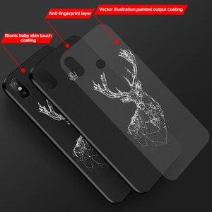 Image 5 - البارون Filou سيليكون حالة ل Xiaomi مي 9T الموالية اللعب A1 A2 لايت 8 SE 9 استكشاف مزيج 2S 3 Fundas كوكه القرش الأسود الحلو الهاتف غطاء