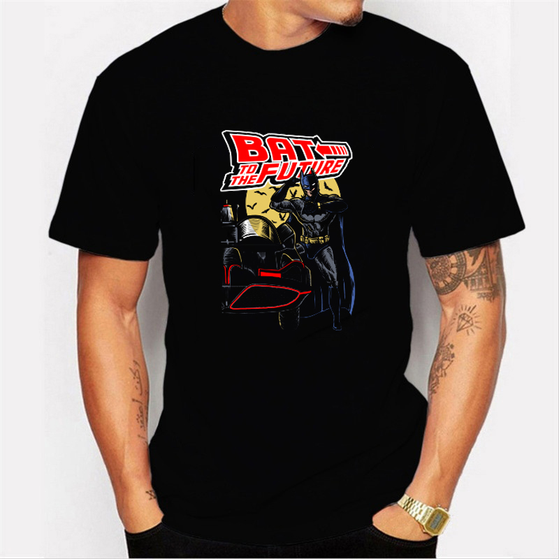 Back To The Future Tshirt Luminous T Shirt camiseta Summer Short Sleeve T Shirts back to future Tee Tops Streetwear T-shirts 4XL 5