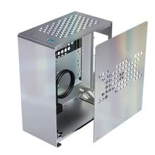 A4 корпус полностью алюминиевый мини Чехол HTPC ITX FLex Power USB3.0 195 мм графическая карта K39 Pro компьютер