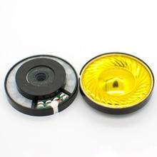 40 ミリメートル 32 オームチタンダイヤフラムヘッドフォンスピーカー N40 19.5 大磁気ヘッドホンドライバーユニット DIY 108dB/W