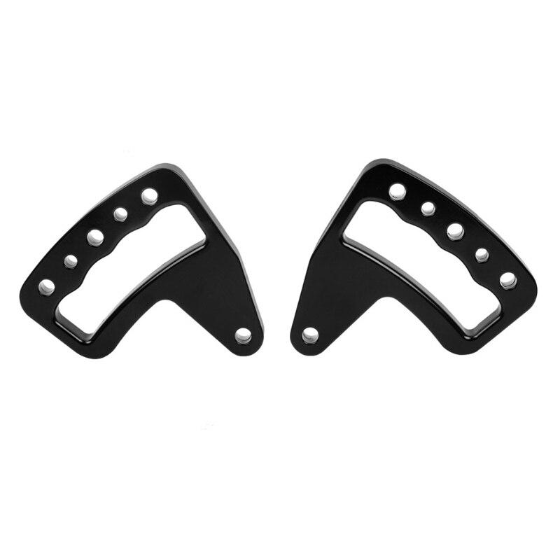 Barre d'appui en aluminium noir poignée de saisie avant pour Wrangler Jk Jku 2007-2017 illimité Rubicon Sahara Sport 2/4 paire de porte