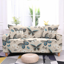 Stretch Slipcovers Geometric pattern Sofa Cover Slipcover for towel Living Room Furniture Protective Armchair couches