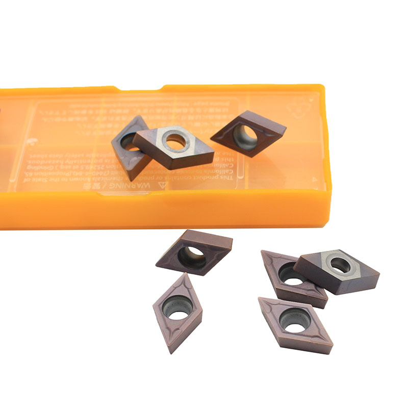 10pcs DCMT070204 DCMT11T304 DCMT11T308 VP15TF UE6020 US735 Carbide Inserts Internal Turning CNC Tool Lathe Tools Tool