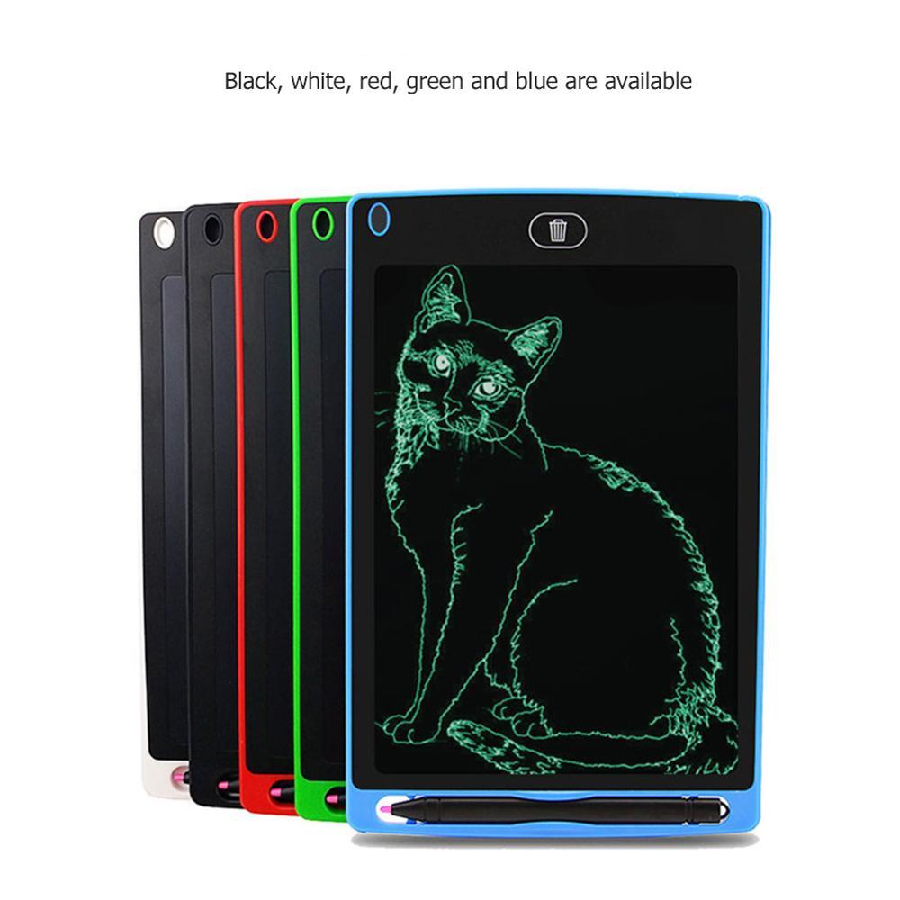 8.5 Polegada portátil inteligente lcd escrita tablet gráficos placa de almofada de escrita eletrônico bloco de notas desenho