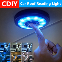 LED Car Interior Reading Light Auto USB Charging Roof Magnet Auto Day Light Trunk Drl Square Dome Vehicle Indoor Ceiling Lamp Decorative Lamp     -